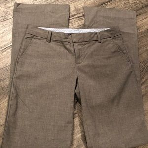Gap Gray dress pants, Size 4 long
